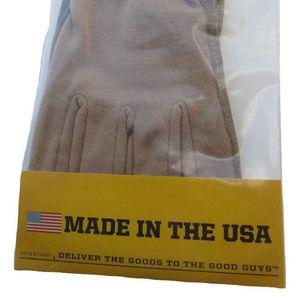 Protech VIP Fire resistant Nomex Flight Gloves Tan sheepskin palm Gauntlets